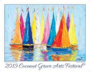 Proud sponsor of the Coconut Grove Arts Festival for our 15th year