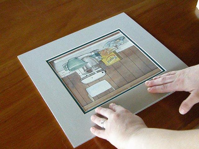 framing memorabilia