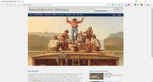 fine art resource national gallery website screenshot